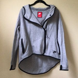 Nike Asymmetrical Zip-up Hoodie